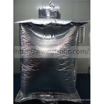 Forro cuadrado de papel de aluminio