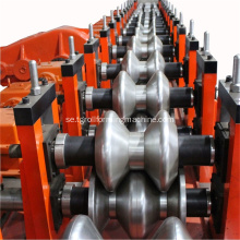 Galvaniserad Steel Highway Crash Barrier Roll Forming Machine