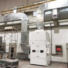 Sistema Central de Coleta de Pó da Solução de Extração de Fumos de Solda