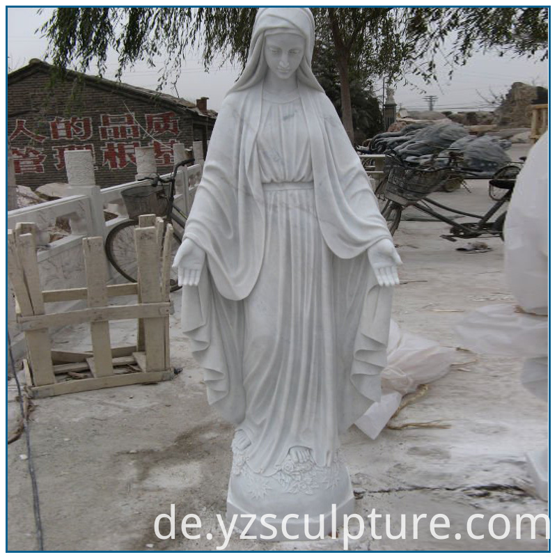 life size Virgin Mary statue