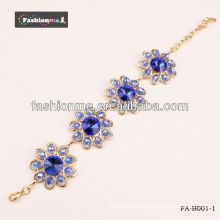 bracelete de cristal de diamante grande círculo chegada 2013 novo