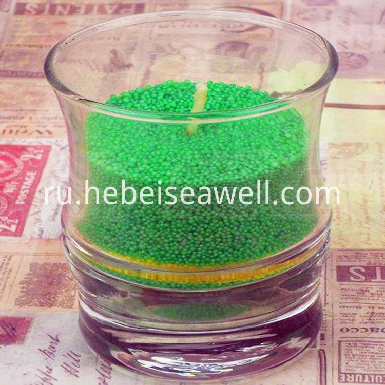 Wax Sand Candle 2