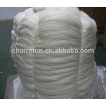 tops en cachemire blanc chèvre mongol de haute qualité
