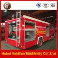 Caminhões de bombeiros da água e da espuma de 120HP 500-1000 galões
