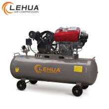 Motor diesel de 4kw 100 litros compresor de aire de 2 cilindros para la venta