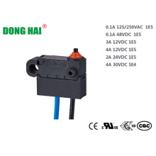 Micro interruptor impermeable a prueba de polvo para equipos de oficina