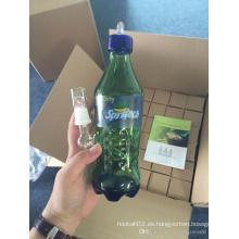 9.2inch Altura Color verde Vidrio superior que vende la pipa de agua Vidrio de Spritech Taza Tubos de Enjoylife Hbking