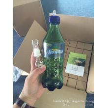 9.2inch Altura Verde Colour Vidro mais vendido Tubo de água Spritech Glass Cup Enjoylife Hbking tubos