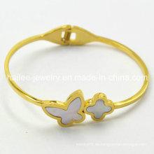 Heißer Verkaufs-Schmetterling 316L Edelstahl-Armband für Frauen