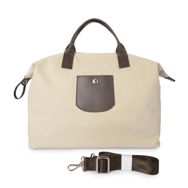 leather travel canvas leather duffle bag