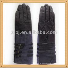 Clip de cinturón largo para mujer guante