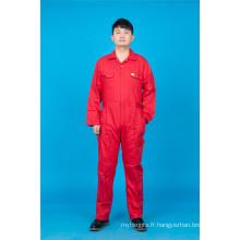65% Polyester 35% Coton Vêtements à Manches Longues Utilisé Uniforme (BLY1019)