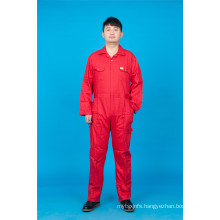 65% Polyester 35%Cotton Cheap High Quolity Safety Long Sleeve Uniform (BLY1019)