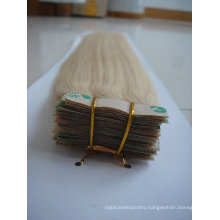 wholesale Brazilian human tape hair extension/skin weft
