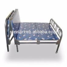Один отель уровня используют нержавеющую сталь каркас кровати