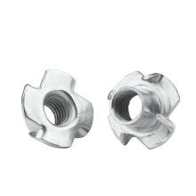 Factory price SS304 DIN1624 M6 Tee Nut