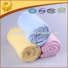Blanket Manufacter Coral Tejido 100% algodón para mantas hospitalarias celulares