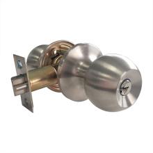 Botão giratório da porta esférica definir trava