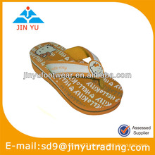 2014 women printing eva slipper