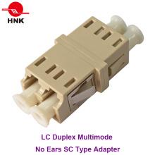 LC Duplex Multimode Keine Ohren Sc Typ Faseroptik Adapter