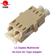 LC Duplex Multimode No Ears Sc Type Fiber Optic Adapter