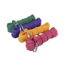 Nueva cuerda de escalada rápida de nylon multicolora 10.5mm, venta al por mayor.