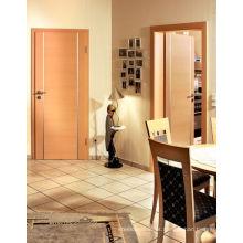 Portas interiores niveladas, portas pintadas folheados carvalho do quarto, portas do quarto de descanso