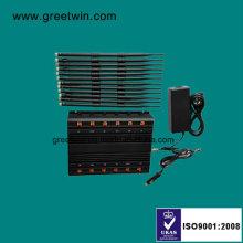12 Band UHF VHF WiFi Jammer / WiFi GPS Jammer / Lojack 4G Lt Jammer (GW-JA12)