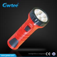 Más barato plástico brillante recargable mini llevó luz antorcha