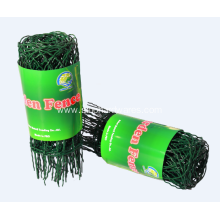 Discount Price Pet Film for Chain Link Fence Scroll Top Garden Fence supply to Nicaragua Supplier