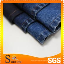 CVC Spandex Slub Denim (SRS-3818)