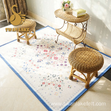 Popular logo branded carpets for home entrance