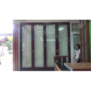 Фабрика китая Производит двери из алюминиевого сплава BI-Fold / распашные двери