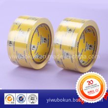 Crystal Super Clear BOPP Packing Tape No Noisy Low Noise