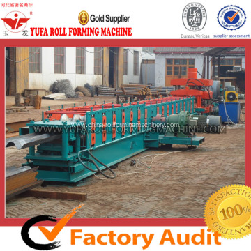 310 Automatic Hydraulic Highway Guardrail Panel Roll Forming Machine