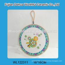 Декоративные керамические кухонные заклёпки с белой веревкой для подвешивания