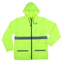 Chaqueta de seguridad reflectante Workwear de alta visibilidad con Ce