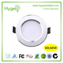 China guangdong Fournisseur High power Bon prix IP 54 rohs led downlight 7w AC230v ul coté dimmable led downlight