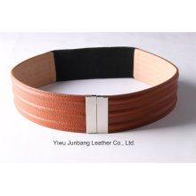 Ladies New Fashion PU Belt Elastic Belt