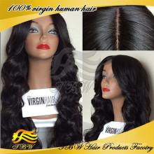 Wholesale Price Peruvian virgin Silk Top Full Lace Wigs, Glueless Human Hair Wigs For Black Women