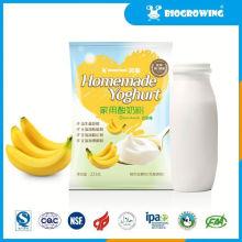 Sabor a frutas bifidobacterium yogurt pérdida de peso