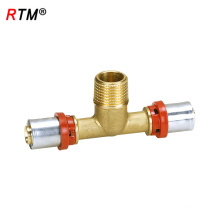 B17 press fittings for aluminum pipe pneumatic fitting press fitting