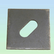 Hot Sale Square Washer With Round Hole or Slotted Washer