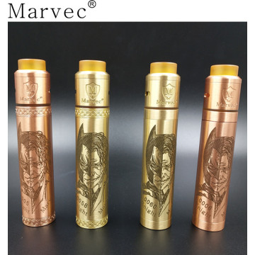 Dark Knight brass mechanical mod e cigarette
