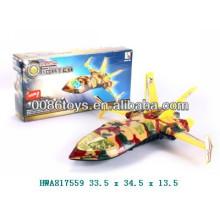 nice style of cartoon plastic plane for kids