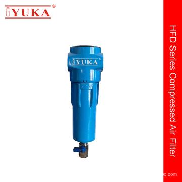 Фильтр сжатого воздуха уменьшает количество пыли