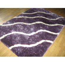 China Shaggy Silk Polyester Carpet