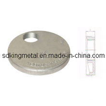 Hot Dippled Galv Ductile Iron Cap with Eccentric Hole