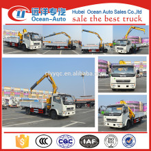 Machine manufacturer small truck crane with high quality