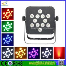 LED RGB DMX 3/6ch SLIM FLAT PAR 12X3W TRI
